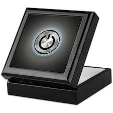 Power Button On Keepsake Box