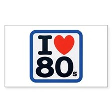 I Heart 80s Decal