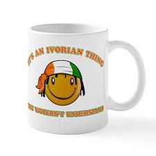 Ivorian Smiley Designs Mug