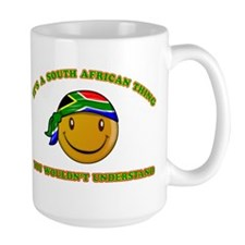 South African Smiley Designs Mug