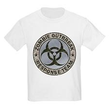 Zombie Response Team Color T-Shirt