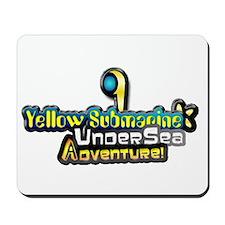 Yellow Submarine Undersea Adventure Mousepad