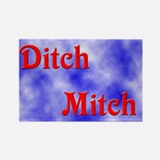 Ditch Mitch Rectangle Magnet