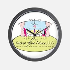 Kitchen Table Advice Large Lo Wall Clock