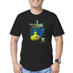 Yellow Submarine Undersea Adventure Men's Fitted T