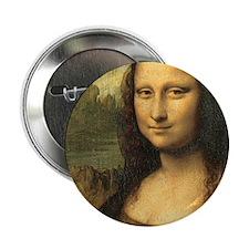"Mona Lisa 2.25"" Button"