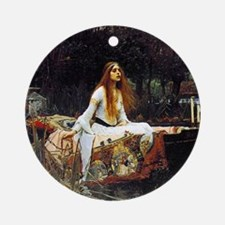 The Lady Of Shalott Ornament (Round)