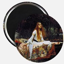 The Lady Of Shalott Magnet