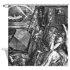 Melencholia Durer Shower Curtain