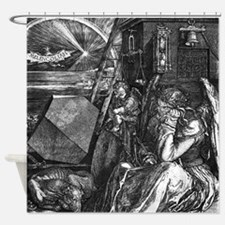 Melencholia Durer Shower Curtain