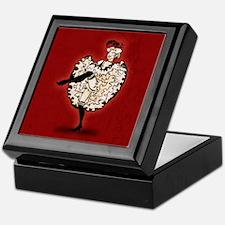 Cancan Dancer Keepsake Box
