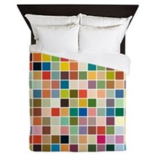 random-color-blocks.png Queen Duvet