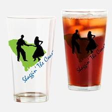 Shaggin The Coast Drinking Glass