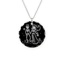 Skeleton Bride And Groom Necklace