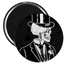 Skull Groom Magnet