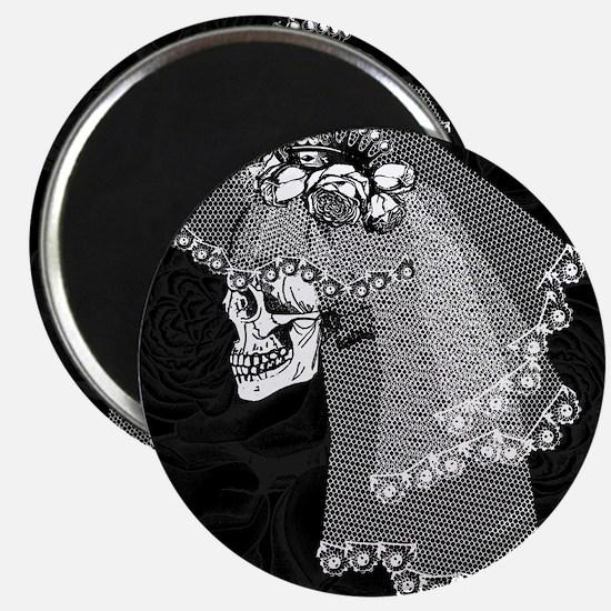 Skull Bride Magnet