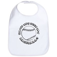 Have You Seen My Baseball? Bib