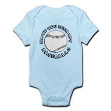 Have You Seen My Baseball? Infant Bodysuit