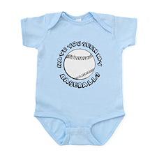 Have You Seen My Baseball? Infant Bodysuit