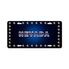 Nevada Aluminum License Plate