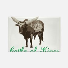Cattle Of Kings Rectangle Magnet