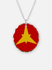 Imperial Ethiopian AF roundel 1946-1974 Necklace