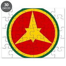 Imperial Ethiopian AF roundel 1946-1974 Puzzle