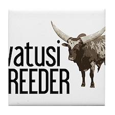 Watusi Breeder Tile Coaster