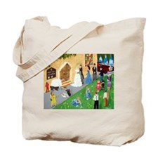 Art By Sandy Wager Painting Tote Bag