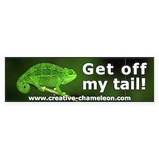 Chameleon Bumper Bumper Sticker