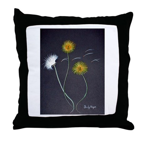 Art By Sandy Wager Painting Throw Pillow