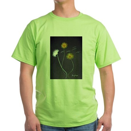 Art By Sandy Wager Painting Green T-Shirt