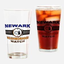 NEWARK WATCH Drinking Glass