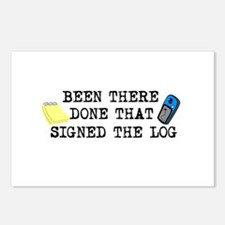 Been There, Done That, Signed The Log Postcards (P