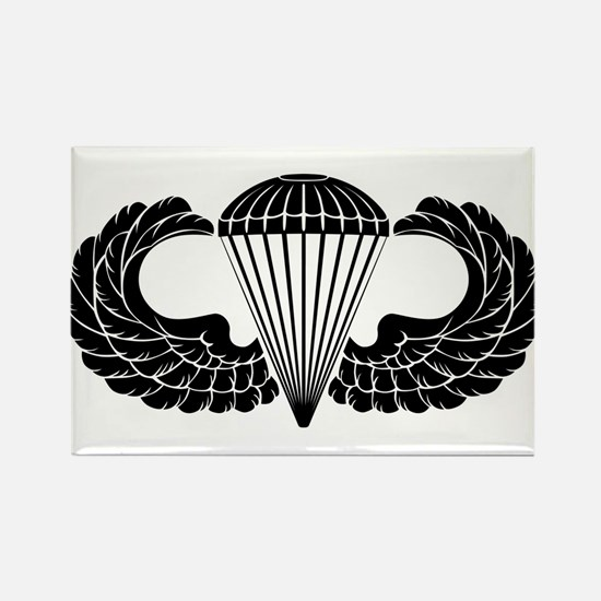 Airborne Stencil Rectangle Magnet