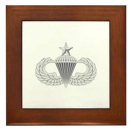 Airborne Senior Framed Tile