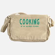 Super Power: Cooking Messenger Bag