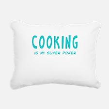 Super Power: Cooking Rectangular Canvas Pillow