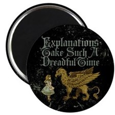 Alice Gryphon Explanations Magnet