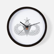 Senior Airborne Combat Jump Wall Clock