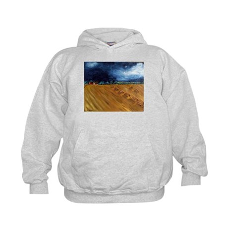 Art By Sandy Wager Painting Kids Hoodie
