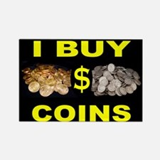 COIN BUYER Rectangle Magnet