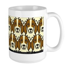 Irish Red and White Setters Mug