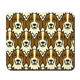 Irish red and white setter Mouse Pads
