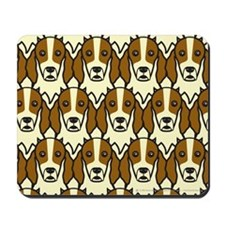 Irish Red and White Setters Mousepad
