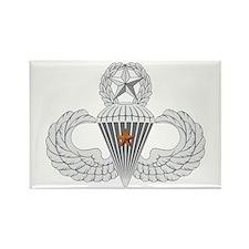 Master Airborne Combat Jump Rectangle Magnet