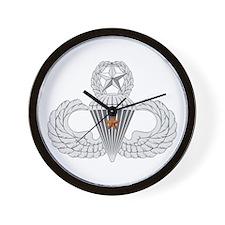Master Airborne Combat Jump Wall Clock