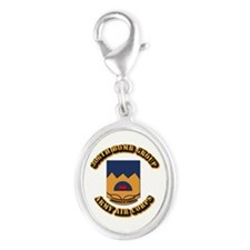 AAC - 306th Bomb Group Silver Oval Charm