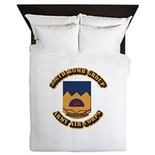 AAC - 306th Bomb Group Queen Duvet