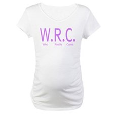 W.R.C. Who Really Cares Shirt